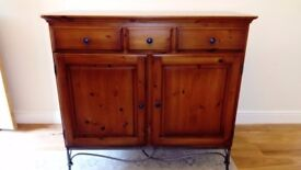 Sideboard for sale. Dark wood. Excellent condition.