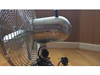 Beldray Premium Brushed Steel Desk Fan