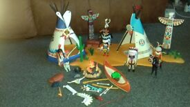 Playmobil Native American Camp Set