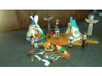 Playmobil Native American Camp Set