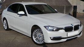 BMW 320d Luxury,FSH,184BHP,Low Mileage,HPI Clear,£30 Road Tax, New Facelift Model!!