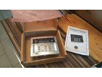 Eur-067C Chrome Flushmount Remote Keypad
