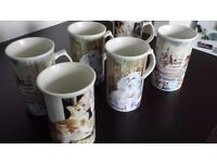 Royal Norfolk Cat Cups/Mugs
