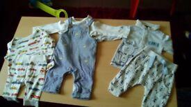 Baby boys bundle 0-3 months