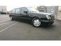 Mercedes E240 6 doors limousine 8 seater
