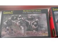 Plastic Soldier figurines wwII to modern