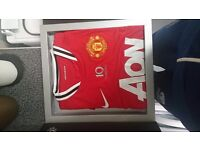 Limited edition manchester united champions shirt