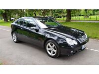 MERCEDES C 220 CDI SE COUPE AUTODIESEL 56 PLATE 2006 ONE F/KEEPER 146000 MILES FULL SERVICE HISTORY