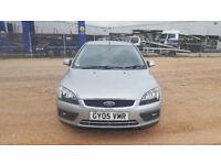 2005 Ford Focus 1.6 silver 5dr hatchback Manual Petrol MOT Nov2018 full service history 2keys
