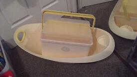 Baby bath and toiletries box