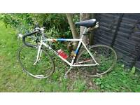 Great road bike with accessories fully working