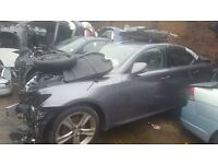 Lexus IS250 2012 2.5 Petrol For Breaking - CALL NOW!!!