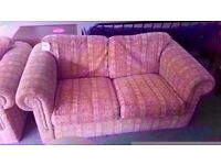 GOOD CONDITION! 2 piece 2 seater sofa and 1 chair