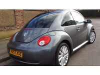 volkswagen beetle 1.9 TDI new shape Diesel e mot and rd tax showroom condition hpi clear bargain