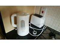Kenwood white kettle and toaster for only £15