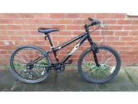 Hood V4 bike .for ages 8 +. 24 inch wheels. Good condition ready to ride