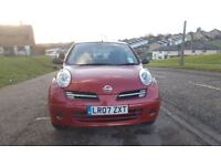 NISSAN MICRA 1.2 3DR MANUAL,LONG MOT,VERY GOOD DRIVE,GENUINE LOW MILEAGE,RECENTLY SERVICED