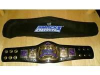 WWE wrestling mini tag team championship belt