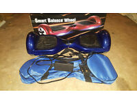 Smart Balance Wheel Segway-Electric Blue with Charger and Holdall Bag in Box