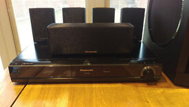 PANASONIC 5.1 Blu-Ray DVD Home Theater Surround Sound System with Kelton Subwoofer