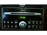FORD SONY CD MP3 PLAYER FOCUS TRANSIT FIESTA