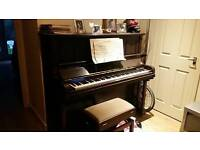Piano upright.every note playes