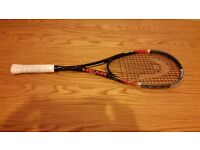 Head Graphene Xenon 135 Squash Racket for £50 ONO, priced for a quick sale