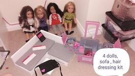 Design a friend dolls clothes and accessories