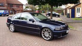 01 BMW 325 Ci auto --- 12m MOT, FSH, 2 keys, LED lights, IMMACULATE CONDITION!! ---