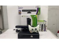 Microsoft Xbox 360 Bundle with Kinect - 250 GB - Matt Black - includes Kinect Adventures Plus More