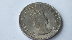 BAILIWICK of JERSEY 5 shillings 1066 -1966