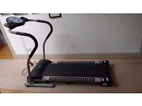 Pro fitness folding treadmill
