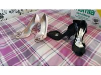 2 pairs of brand new ladies shoes size 7