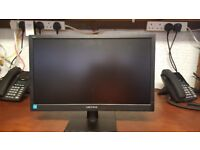 HANNS G - Model HL205DPB - 19.5 inch LED Monitor with Speakers - Black
