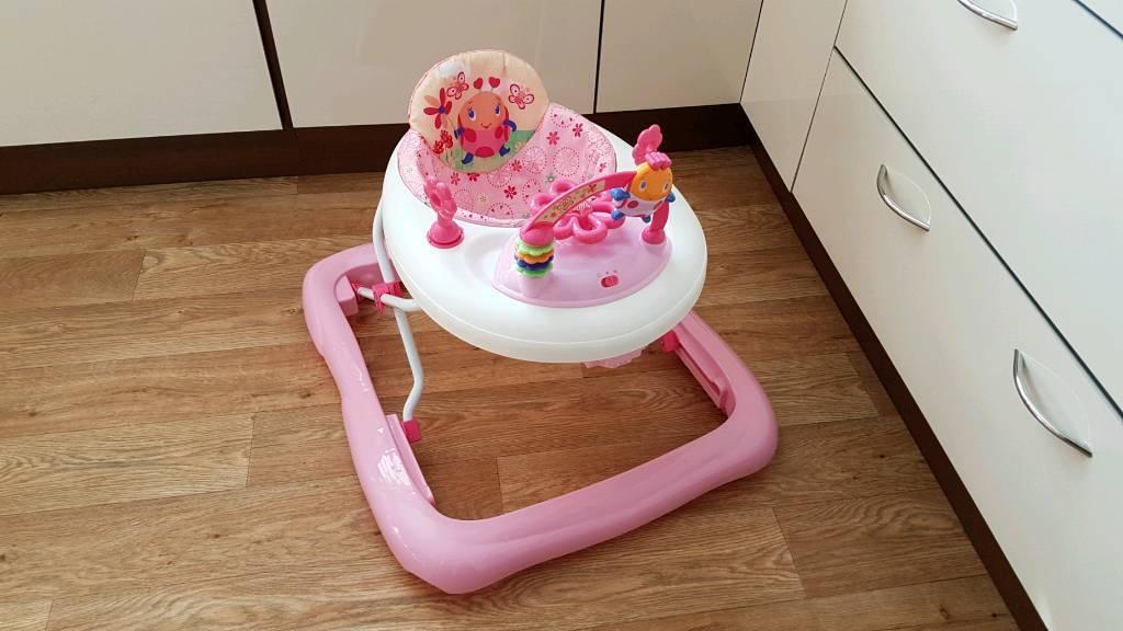 Bright Starts Baby Walker - pink | in Attleborough, Norfolk | Gumtree