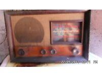 War time radio.