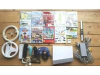 Nintendo Wii Bundle (Mario Matt, super Mario and more)