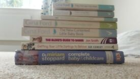8 books Gina Ford, Dr Miriam Stoppard, Sue Cowley and Jon Smith