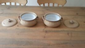 Denby china casserole dishes