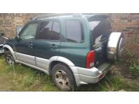 Suzuki Grand Vitara. Spares repair.
