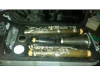 Rikter clarinet with carry case