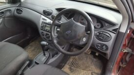 Ford focus spares and rapirs dose run but automatic gearbox is broken