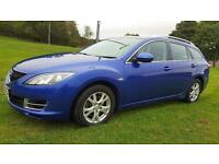 MAZDA 6 2.0 Diesel TS Great Practical Family Car FSH & Long Mot (blue) 2008