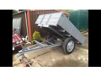 Mint original tipping trailer strong solid