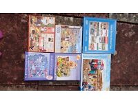 Collection of jigsaws