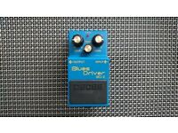 Boss BD-2 Blues Driver Overdrive Ped
