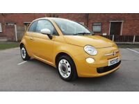 2013 FIAT 500 FULL SERVICE HISTORY ONE OWNER 2KEYS YELLOW