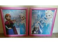 2 frozen pictures