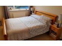 Dreams pine king size bed frame in excellent condition