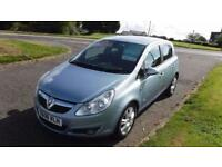 VAUXHALL CORSA 1.4 DESIGN 2008,Alloys,Air Con,Half Leather,Only 49,000mls,Service History,Very Clean